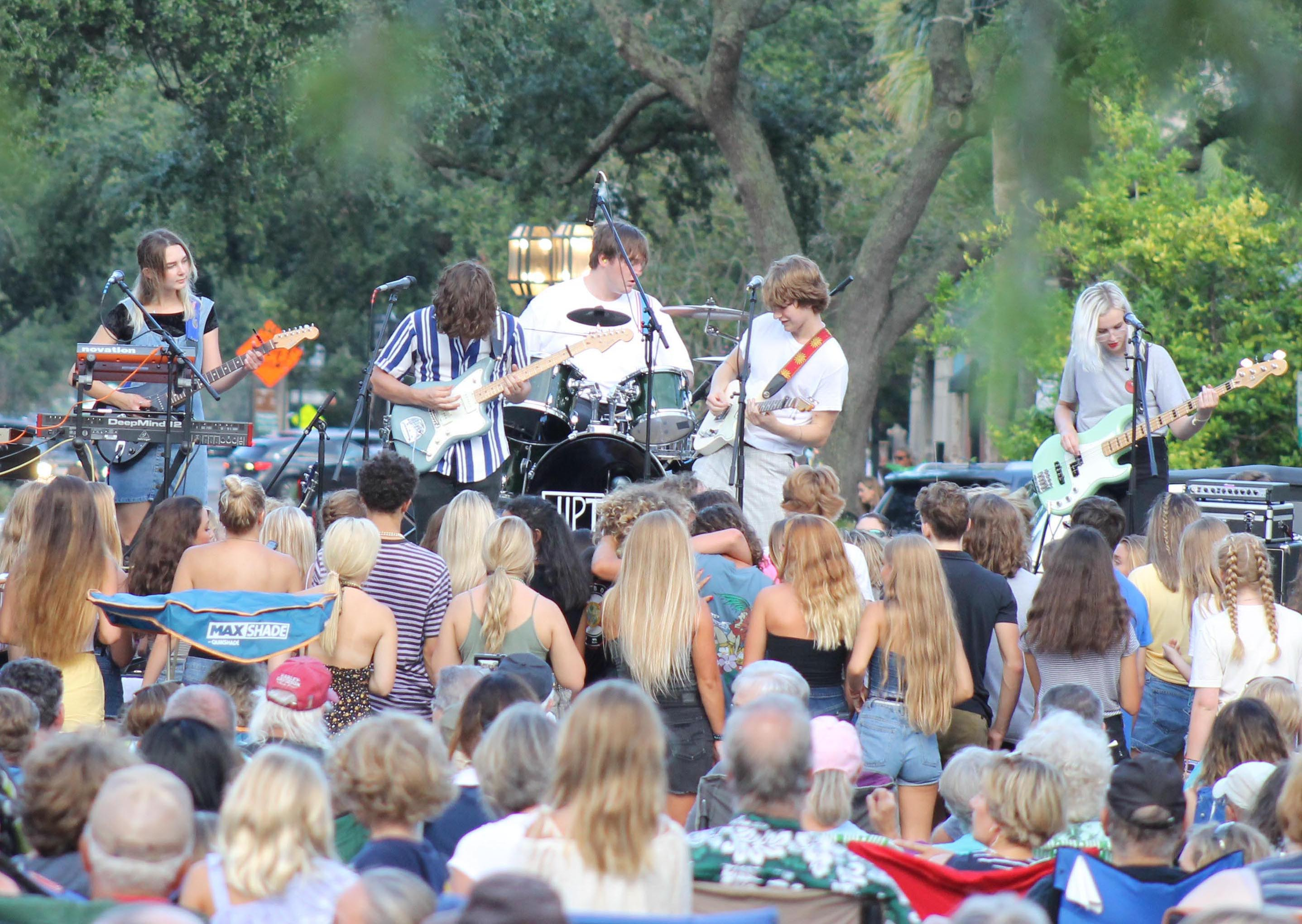 Hundreds of people attended Sounds on Centre monthly concerts from April through October until last year, when guidelines to prevent the spread of the coronavirus caused the shows to be canceled. The Fernandina Beach City Commission voted to approve the permit for the shows in 2021, but organizers say they have not come to a final decision regarding the concerts.