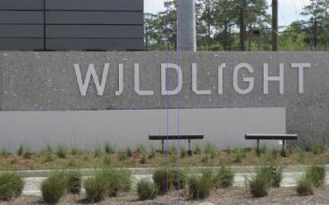 The sign at the entrance to the Wildlight development in Yulee. FILE PHOTO