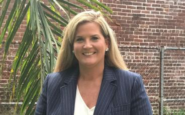 Jenny Higginbotham Barrett, a candidate for Nassau County judge, said the judicial system helps shape society, and she wants to be part of the leadership that does that. JULIA ROBERTS/NEWS-LEADER