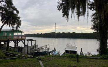 Anderson's Lodge in Welaka on the St. Johns River retains its Old Florida style. PAT FOSTER-TURLEY/FOR THE NEWS-LEADER