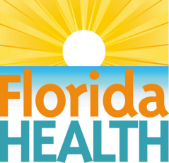 The logo of the Florida Department of Health Nassau County.