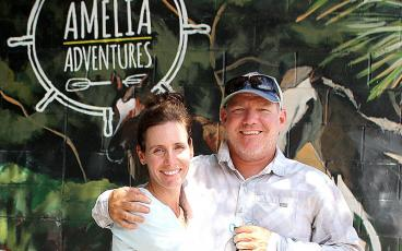 Amelia Adventures, owned by Catherine and Thomas Oliver, is open at 432 S. Eighth St., offering kayak, boat and paddleboard excursions. BETH JONES/NEWS-LEADER
