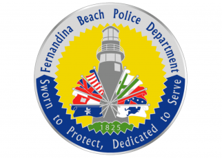 The logo of the Fernandina Beach Police Department
