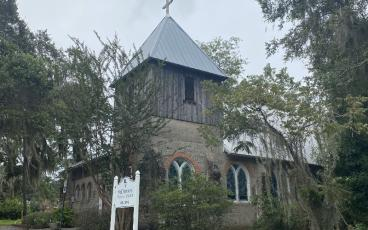 Historic churches surround Vernon Square Park in Darien, Ga. PAT FOSTER-TURLEY/FOR THE NEWS-LEADER