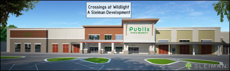 The new Publix in the Wildlight development is expected to open in spring 2022.
