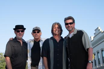 Alain Le Lait, from left, Michael Spicer, Dan Chellemi and Jeff Malone make up the Amelia Blues Project, a group of local musicians who are keeping the music alive on Amelia Island.