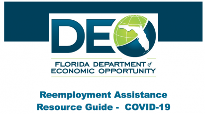 The Florida Department of Economic Opportunity announced May 21 that Florida was awarded $12 million in federal funding through the Disaster Recovery Dislocated Worker Grant in response to COVID-19. This federal Disaster Recovery Dislocated Worker Grant will provide disaster relief employment in the form of temporary jobs, employment and training services, and supportive services to eligible Floridians.