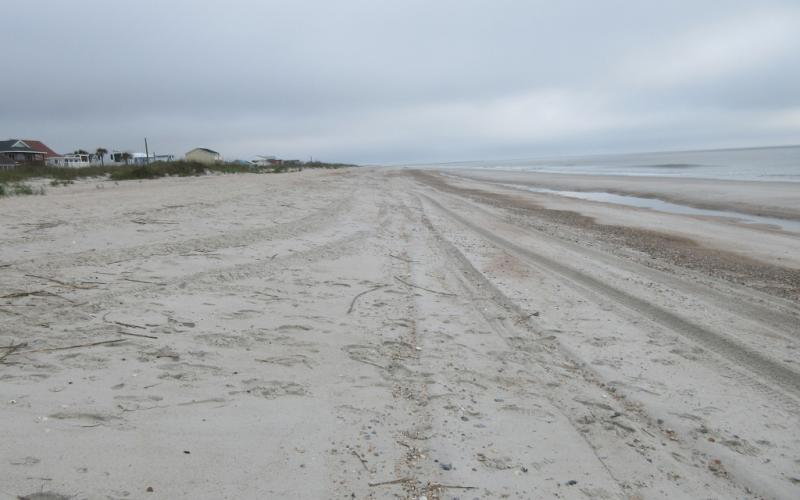"A rare sight – a deserted beach on Amelia Island – will remain the norm for at least the next few weeks. City and county officials believe beach closures have helped ""flatten the curve"" of the spread of the coronavirus. JULIA ROBERTS/NEWS-LEADER"