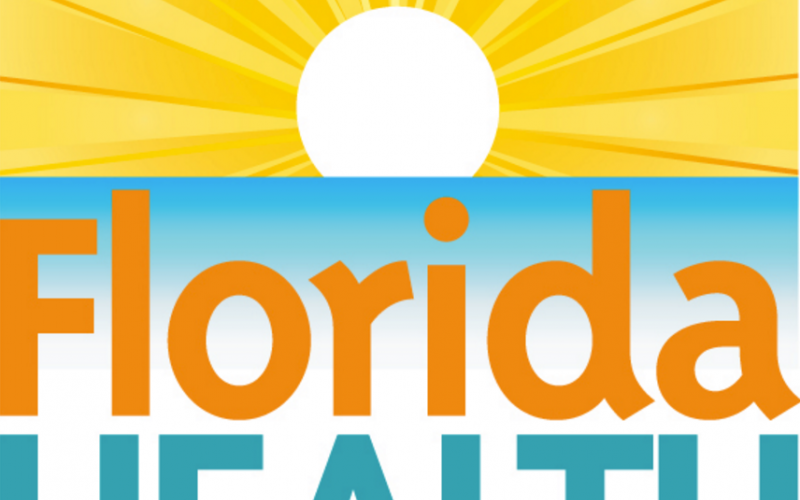 The logo of the Florida Department of Health.