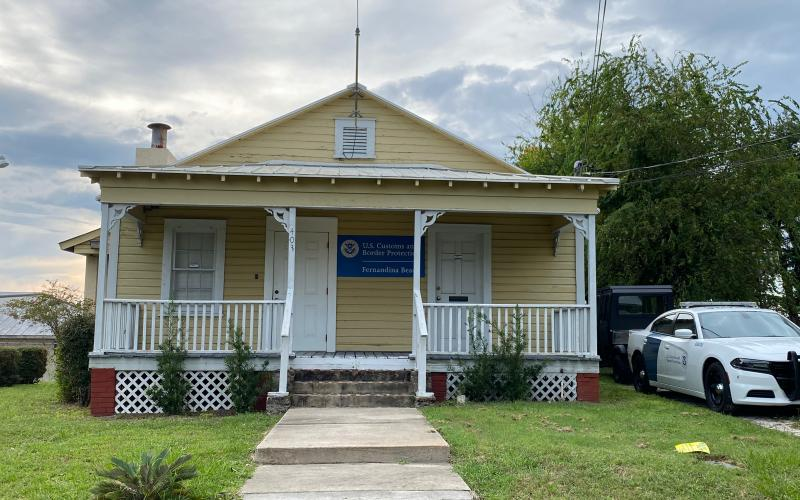 The city of Fernandina Beach has asked the Ocean Highway and Port Authority to preserve the customs house on the property.  Peg Davis/News-Leader