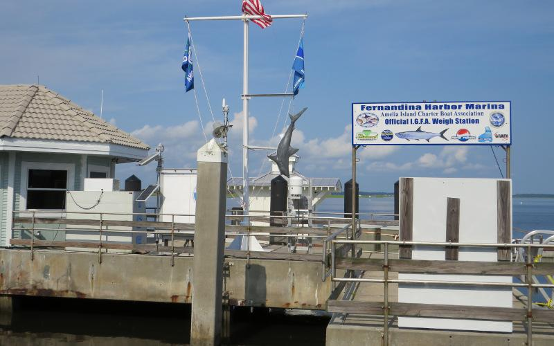 At its Wednesday meeting, held a day late due to Election Day, the Fernandina Beach City Commission approved a contract with Oasis Marina for the company to take over management and operations at Fernandina Harbor Marina on Dec. 1. JULIA ROBERTS/NEWS-LEADER